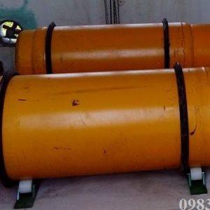 Bình chứa clo 500kg Trung Quốc – Bình nằm
