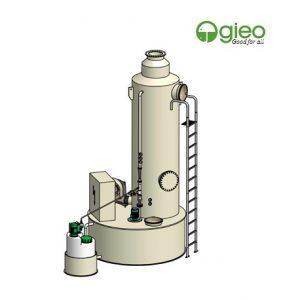 Hệ thống trung hòa clo rò rỉ công suất 500kg/h
